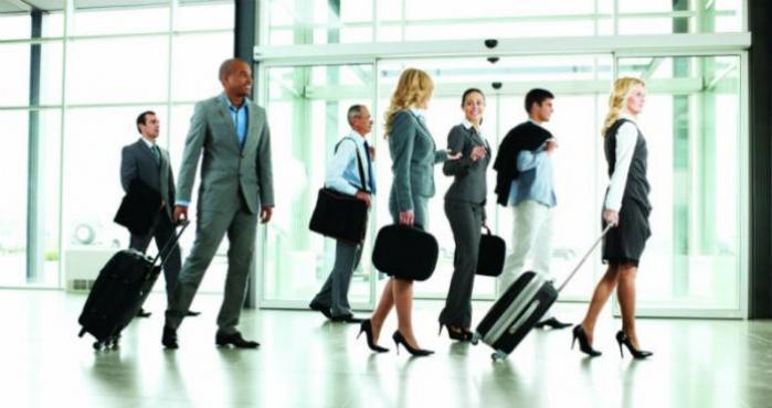hacer negocios viajando